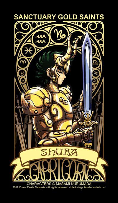 Saint Seiya - Capricorn by blackwing-dias.deviantart.com on @deviantART