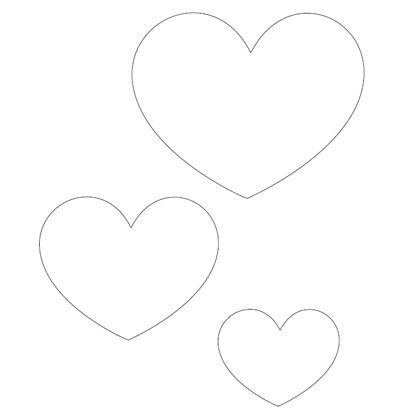 Printable Heart Template | Spoonful