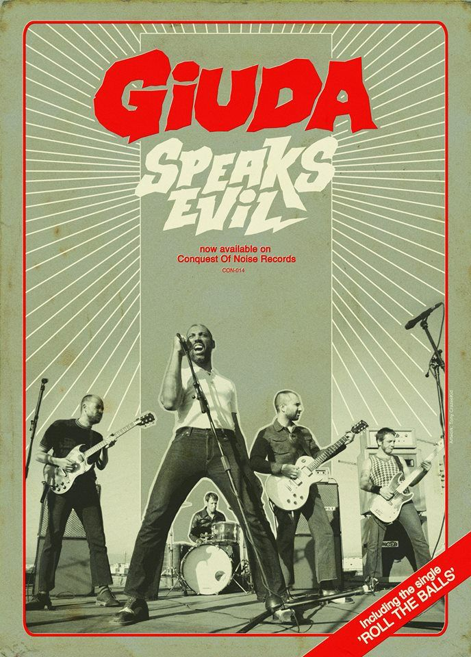 "Pre-order the Australian release of the latest Giuda album ""Speaks Evil"" now on limited multi coloured vinyl, black vinyl or compact disc. All pre-orders receive a limited edition poster with your order & download code for the album within 48 hours. OUT MAY 2017 All CON releases include free shipping world wide"