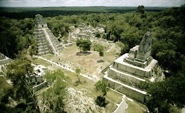 Guatamala. Little known Mirador Basin, hidden in 2,000 years of jungle growth in northern Guatemala. 5 Preclassic Mayan cities.