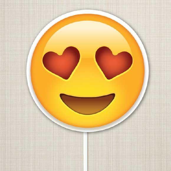 Placa Emoji Apaixonado                                                                                                                                                                                 Mais