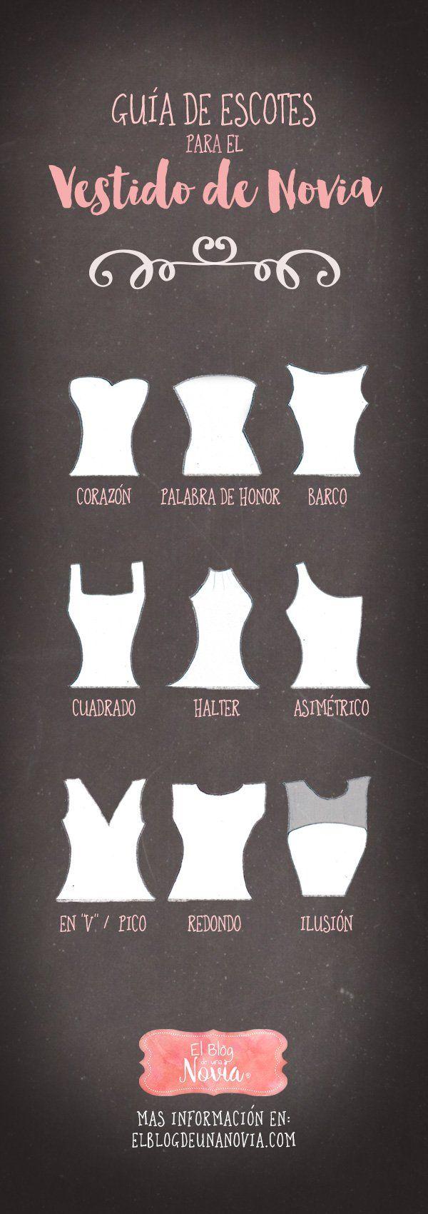 Guía de Escotes para el Vestido de Novia | El Blog de una Novia…