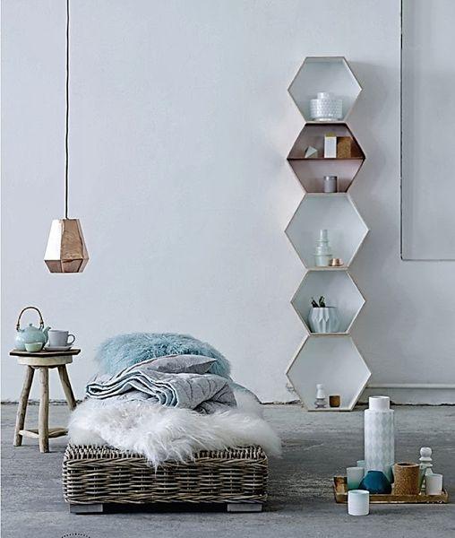 Preciosa casa, con diseño limpio y toque #nórdico | Decorar tu casa es facilisimo.com