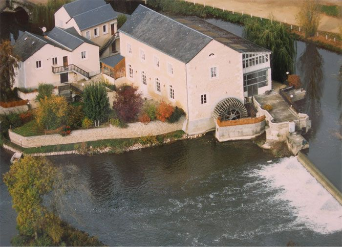 Gite des Trois Moulins, Vouvray sur Loir, Sarthe.
