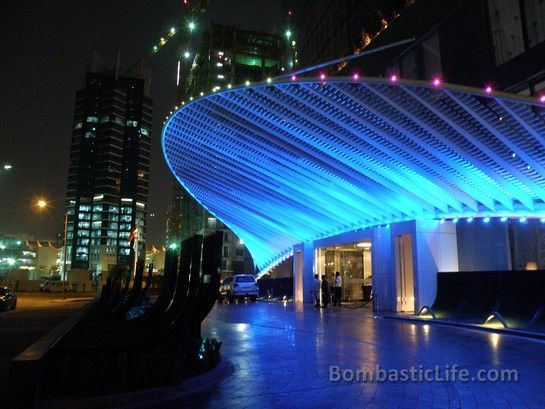 Entrance to W Hotel Doha - Doha, Qatar