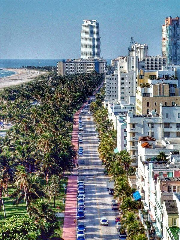 Ocean Drive, Miami, Florida