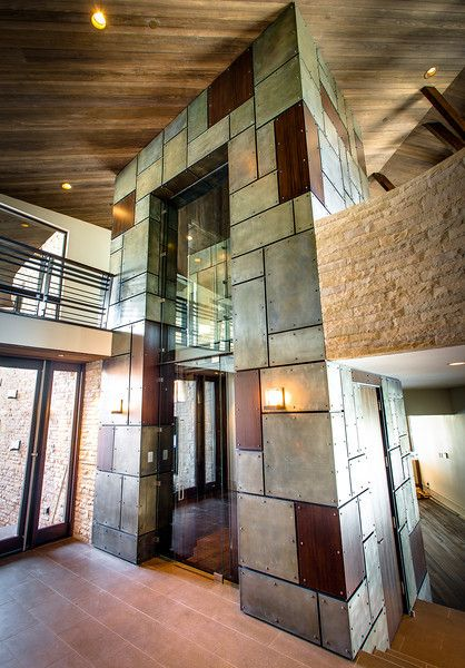 Cool residential elevator!