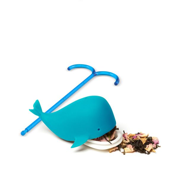 <strong>Fred Brew Whale Tea Infuser</strong> - Thar she brews! Fill Fred's legendary legendary Brew Whale with tea leaves and submerge into the hot depths of your teacup. When the steeping's complete, just heave on the waterspout handle and help her breach the surface.