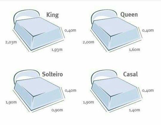 17 mejores ideas sobre medidas de cama queen en pinterest for Cuanto mide una cama queen size