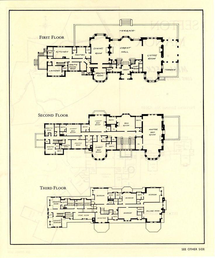 290 best images about vintage luxury house or estate for David james homes floor plans