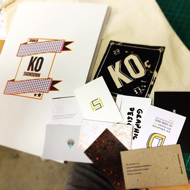 """@Hart Black's photo: """"Swag from last nights Central TAFE Grad-show. Well done guys! #tafe #centraltafe #graphicdesign #graphicinspiration #graphics #graduates"""""""