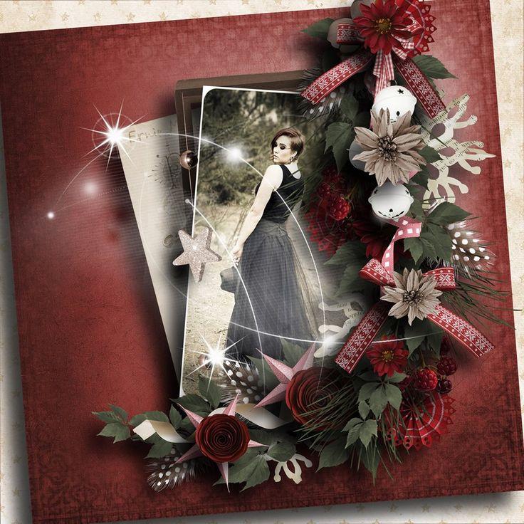 Christmas pleasures: Moosscrap's Designs  http://www.oscraps.com/s…/Christmas-pleasures-full-pack.html