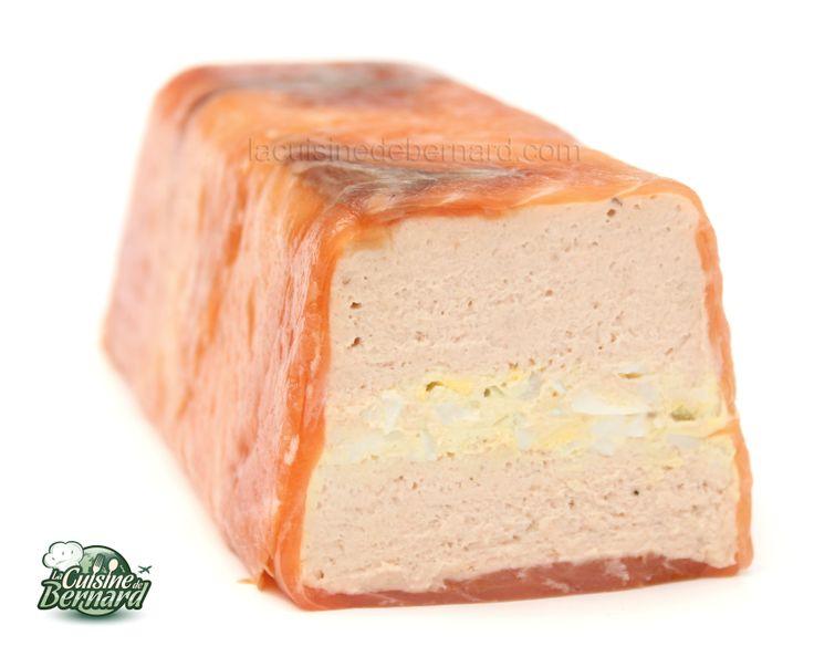 La Cuisine de Bernard: La Terrine de Saumon