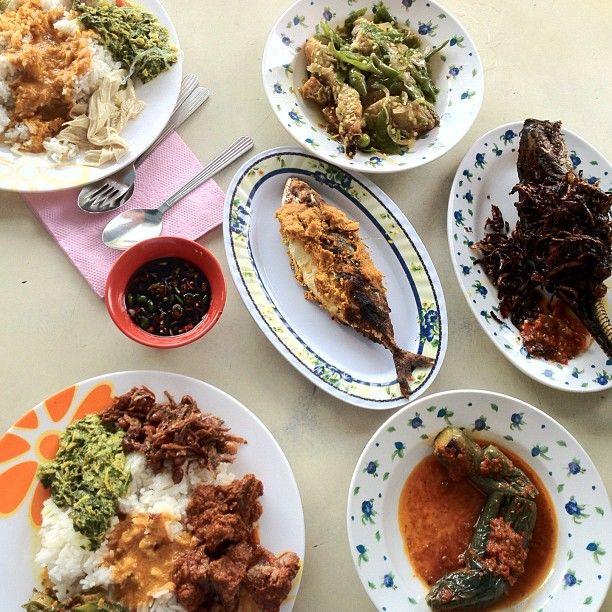 $12 Lunch @ Restoren Nasi Padang Minang