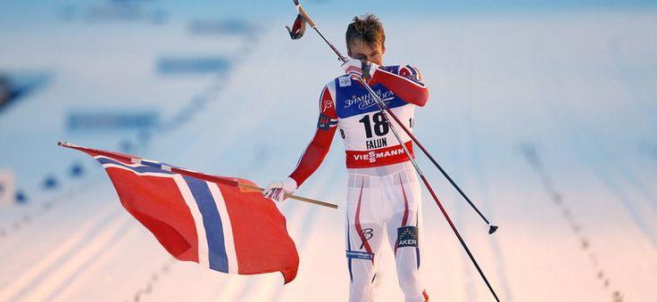 MŚ w Falun: Petter Northug złotym medalistą w sprincie
