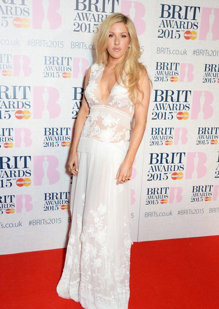 Pin for Later: Les Brit Awards Ont Été Plus Glamour Que Jamais Ellie Goulding