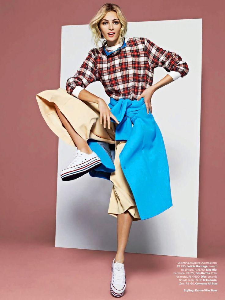 visual optimism; fashion editorials, shows, campaigns & more!: short cuts: valentina zelyaeva by j.r. duran for vogue brazil june 2014