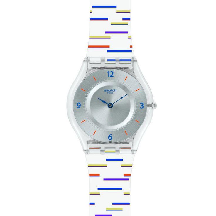 reloj swatch mujer thing liner sfe reloj swatch para mujer