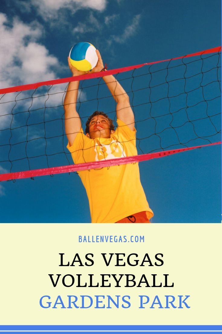 Grass Volleyball At Gardens Park Ballenvegas Com Garden Park Las Vegas Volleyball