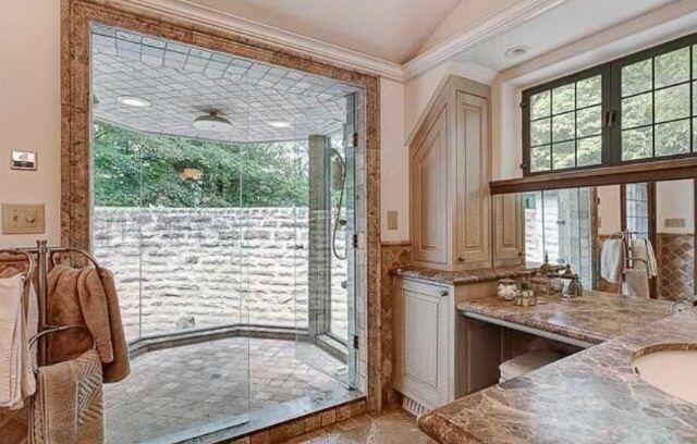 indoor outdoor shower bathrooms pinterest showers