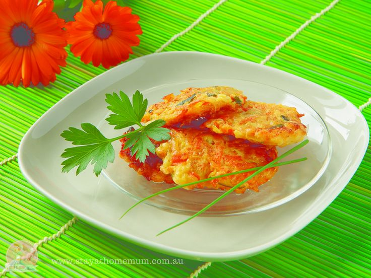 Vegetable Fritters | Stay at Home Mum #Lunch #Fritters