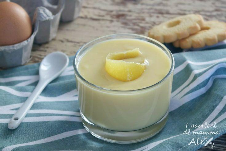 Il Dessert alla crema pasticcera è un golosissimo dolce al cucchiaioche si presta benissimo come inzuppo per lingue di gatto o canestrelli