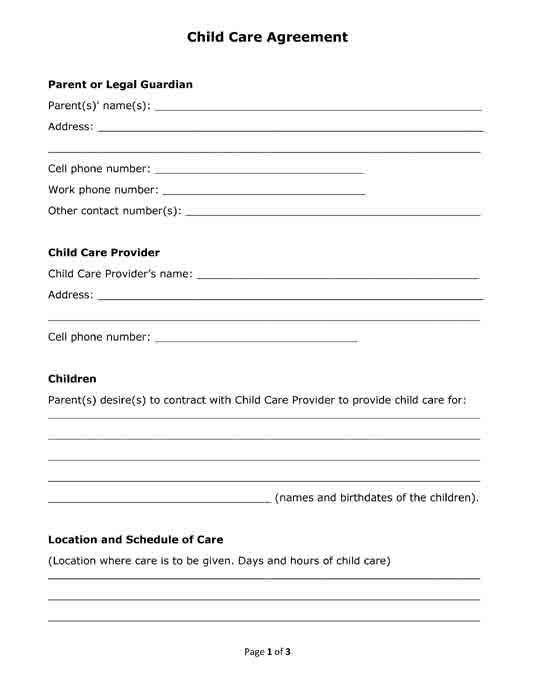 20 best Useful Legal Forms and Letters Free Printable PDF Format - agreement letter format