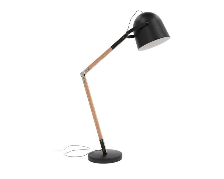 Wesley floor lamp black rove concepts sandro mid century furniture