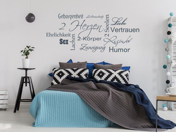 Die besten 25+ Wandtattoos schlafzimmer Ideen auf Pinterest - wandtattoo schlafzimmer sprüche