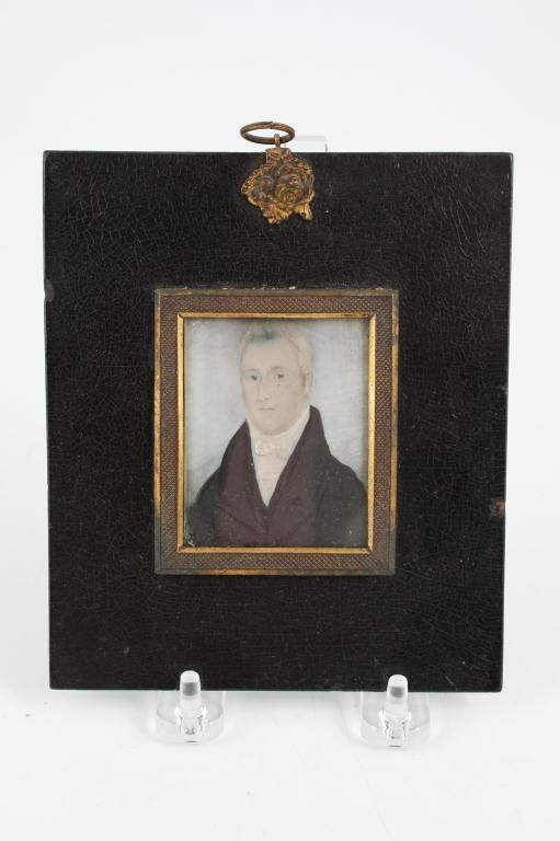 (19th c) MINIATURE ON IVORY OF JAMES CAMPBELL Lot 924