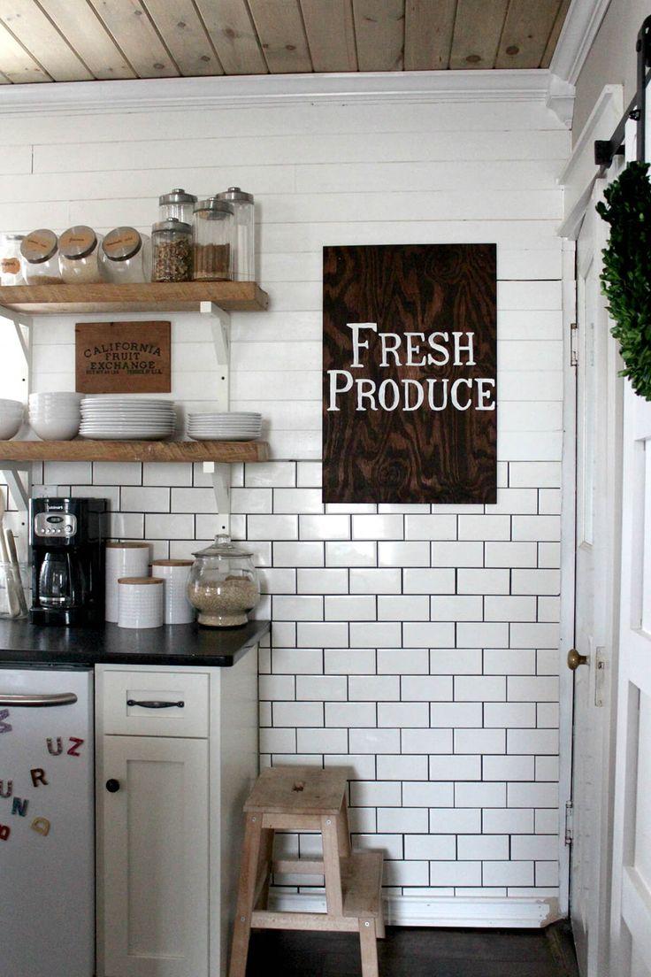35 DIY Bauernhaus K che Dekor Ideen um Ihre K che mit # ...