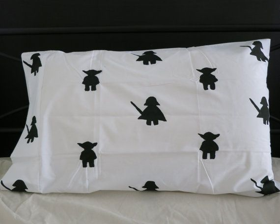 The Force pillowcase by AliJoyKids on Etsy