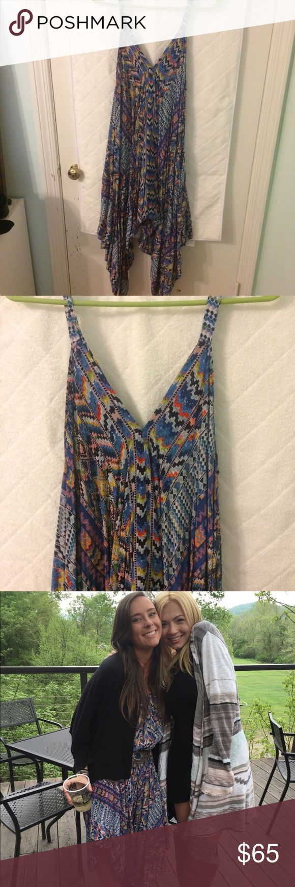 Tribal Print Jumpsuit from Altard State Such a fun piece...gently worn, size small Altar'd State Pants Jumpsuits & Rompers