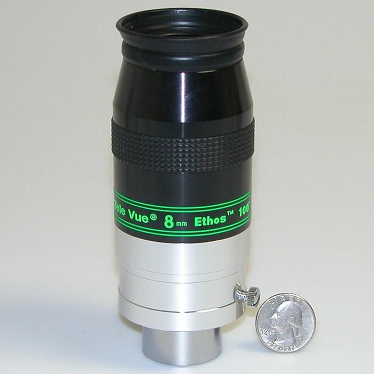 "TeleVue - 8mm 1.25""/2"" 100° field Ethos"