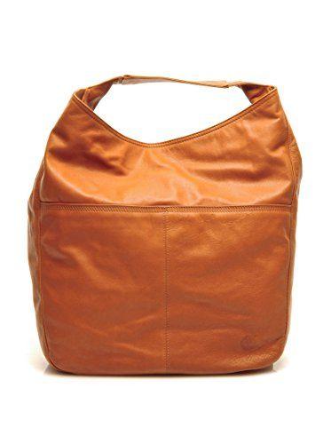 Timberland Sonya bag .buyvip.com Borsa sfoderata in pelle vintage look con manico piatto portabile anche a spalla. Logo impresso sul fronte. Una tasca interna con cerniera.