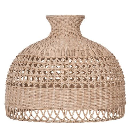 35 best rattan shade images on pinterest wicker rattan and lamp woven rattan lacey light shade the family love tree salt living mozeypictures Images