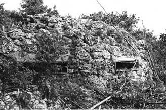 "Japanese fortifications - Colonel Nakagawa used the rough terrain to his advantage, by constructing a system of heavily fortified bunkers, caves, and underground positions all interlocked into a ""honeycomb"" system. The old tactic of the ""banzai charge"" was also discontinued as wasteful of men and ineffective. These two tactics would force the Americans into a war of attrition requiring more and more resources. Battle of Peleliu"