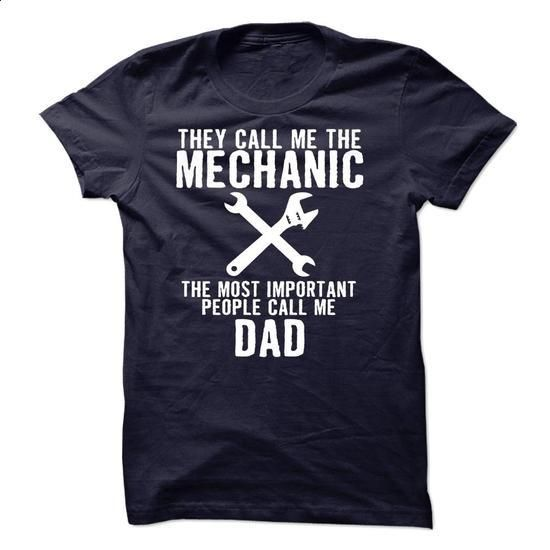 Mechanic Dad Limited Edition  - #short sleeve shirts #navy sweatshirt. BUY NOW…