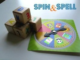 Spin and Spell – Spelling Activity For Kids
