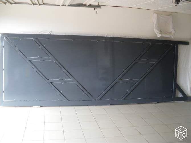 1000 id es sur le th me portail coulissant sur pinterest portail alu portail aluminium et portail. Black Bedroom Furniture Sets. Home Design Ideas