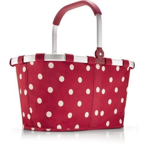 red polka dot market basket look for the ones made in. Black Bedroom Furniture Sets. Home Design Ideas