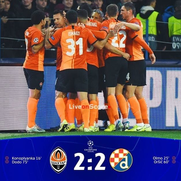 Shakhtar Donetsk 2 2 Dinamo Zagreb Full Highlight Video Uefa Champions League Allsportsnews Football High Uefa Champions League Champions League Donetsk