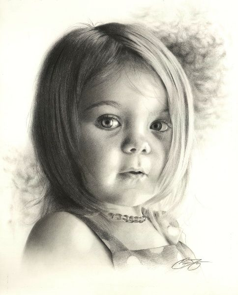 Beautiful pencil drawing of my daughter megan done by