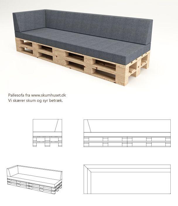 www.pallesofaen.dk koldskum pallemadras hynde til pallesofa kvadrat diy paller pallemøbel sofa af paller