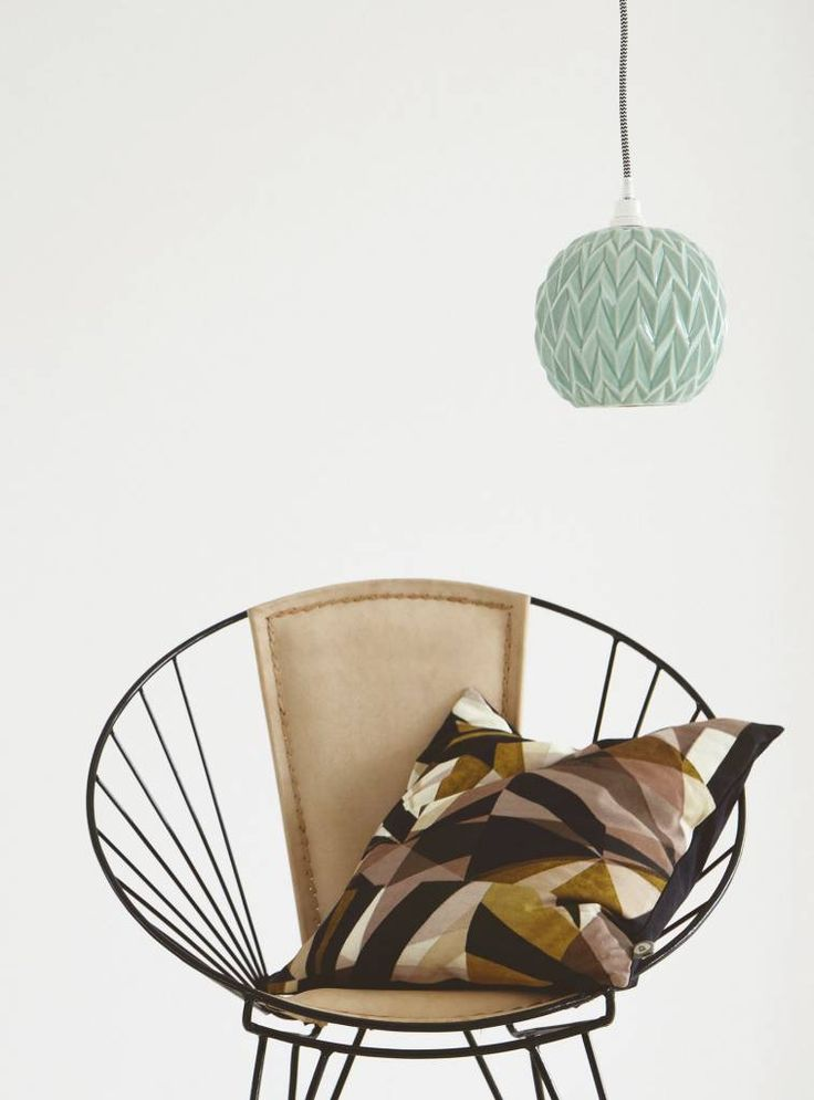 Housedoctor Lampenkap / hanglamp, DESIGN, mintgroen, 17 cm - wonenmetlef.nl