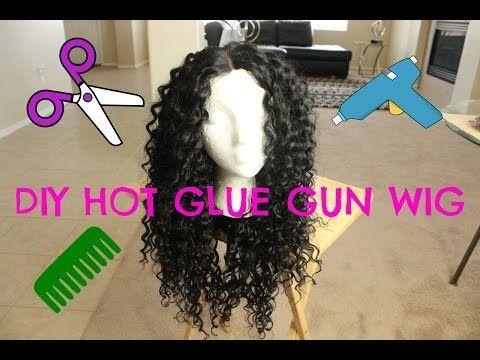 DIY Hot Glue Gun Wig For Under $20 [Video] - Black Hair Information