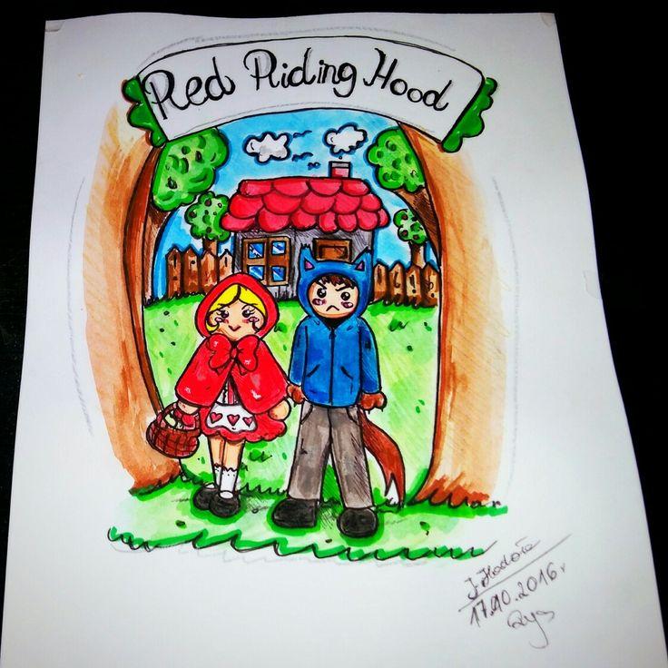 Art.Red Riding hood(*^▽^*)