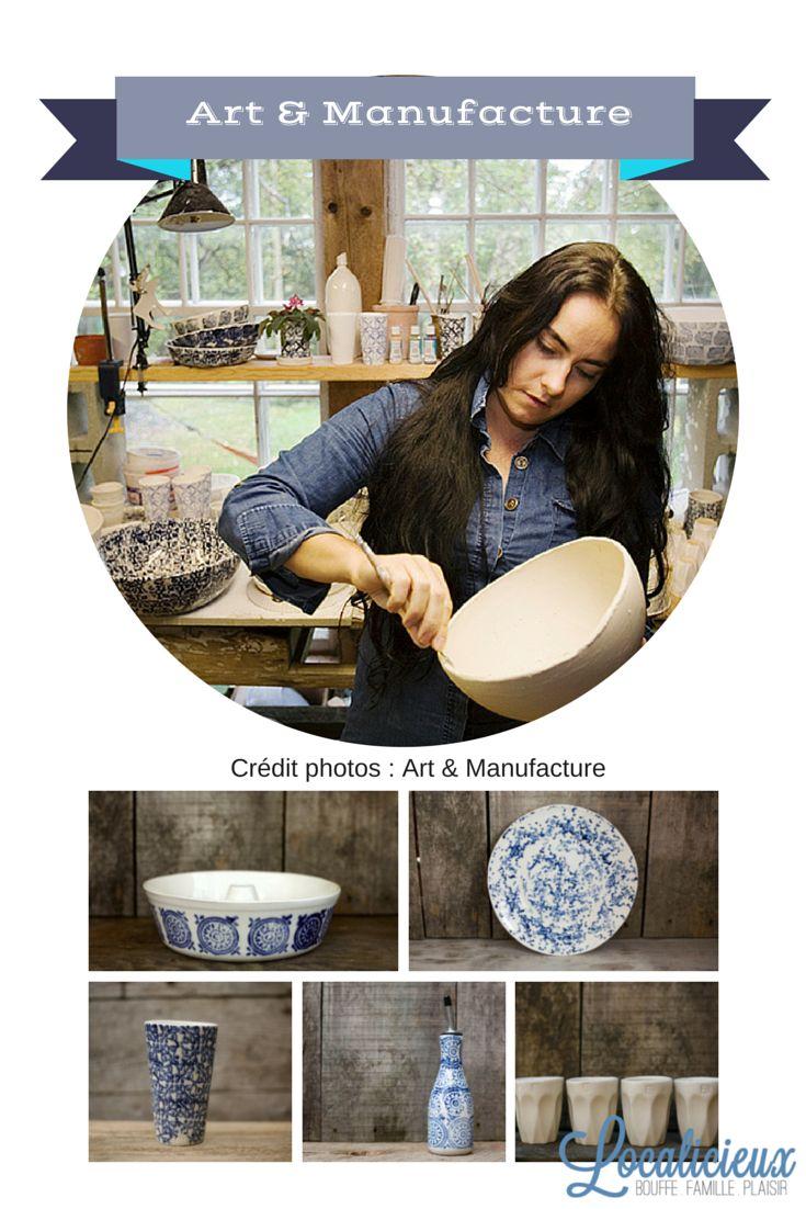 Art & Manufacture - une artisane québécoise qui crée de la porcelaine unique