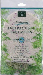 Earth Therapeutics Naturally Anti-Bacterial Bath Mitten Body Care by Earth Therapeutics. $6.24. No Animal Testing. Earth Therapeutics Naturally Anti-Bacterial Bath Mitten Body Care