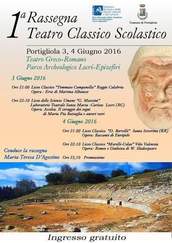 Calabria: #Teatro #classico #scolastico al via la prima rassegna: il programma (link: http://ift.tt/1smU4Ul )